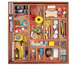 Real Simple Drawer Organization