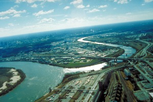 KCK aerial view